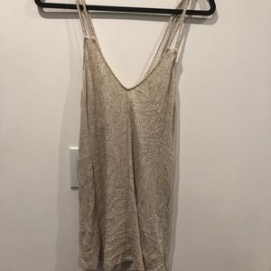 Silence + Noise Large Tank Top worn once